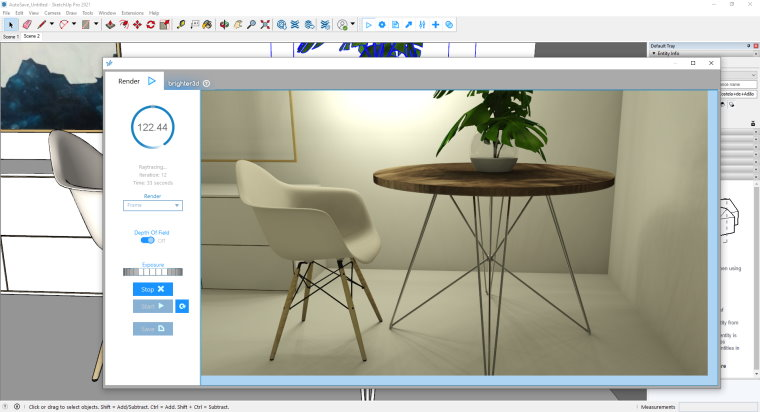 Brighter3D for SketchUp 2021