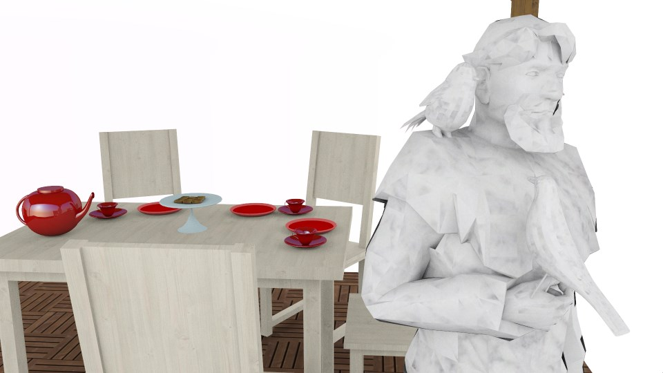 Brighter3D Ambient Occlusion rendering sample